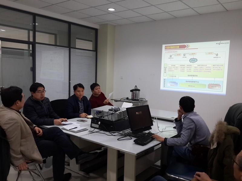 公司技术人员介绍技术方案